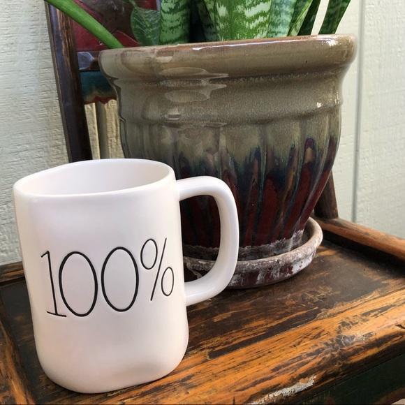 Rae Dunn One Hundred Percent Mug